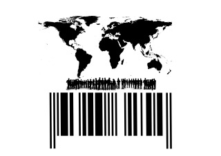 Bar code Earth